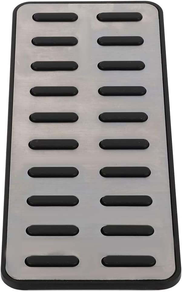FEIPARTS Non Slip Performance Foot Pedal Pads Auto Aluminum Pedal Covers fit for Hyundai Elantra i30 KIA Optima K5 2017