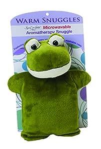 Dreamtime Spa Comforts Snuggles Frog, Green