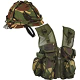 Kids Army Gift Set , British Forces Military Commando Camouflage camo (Set 5)
