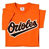 Baltimore Orioles (ADULT XL) 100% Cotton Crewneck MLB Officially Licensed Majestic Major League Baseball Replica T-Shirt Jersey