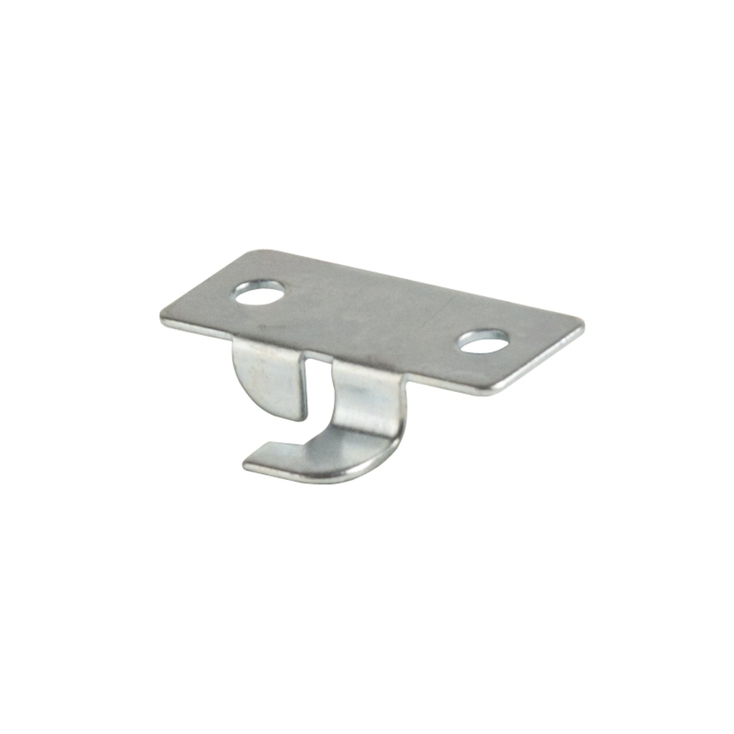 Econoco GLKCP50 Deluxe Style Snap-in Center Shelf Rest, Metal, Zinc (Pack of 50)