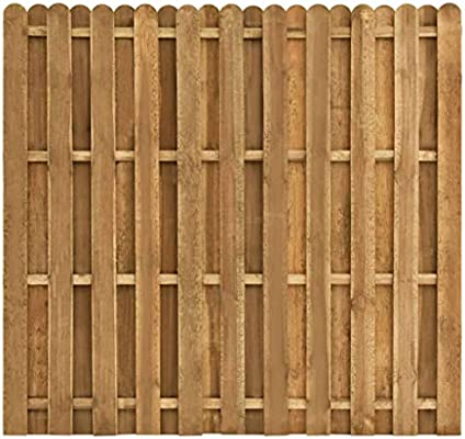 Festnight Panel de Valla de jardín Madera de Pino FSC 180x170 cm Resistente a la putrefacción para jardín, Patio o terraza: Amazon.es: Hogar