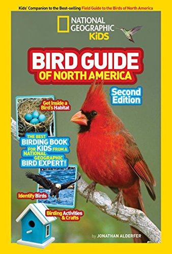 National Geographic Kids Bird Guide of North America, Second