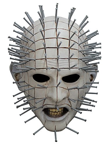 Ghoulish Productions Men's Monster Horror Hellraiser III Pinhead Mask Halloween Costume Accessory for $<!--$43.07-->