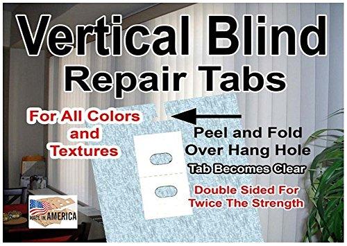 Vertical Blind Repair Tabs