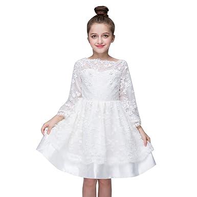 Vestido blanco corte trapecio