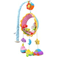 MagiDeal Baby Soft Musical Bed Cot Crib Mobile Plush Toys Nusery Lullaby Toys - Style-1, as described