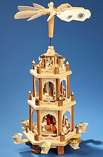 Christmas Pyramid with Nativity & Angels by PFAFF (Image #1)
