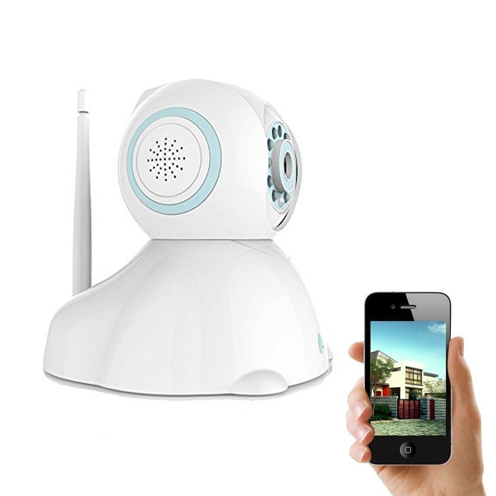 IP Camera, UOKOO 720P Wireless Security Camera Internet Surveillance Camera with Pan/Tilt and 2-Way Audio use for Pet Monitor, Puppy Cam, Baby Monitor and Nanny Camera C42 by UOKOO (Image #1)