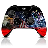 (4th July) Custom Xbox One Controller with Exclusive Design Vinyl Skin Decal Uniquely Hand Painted and Air-Brushed Review