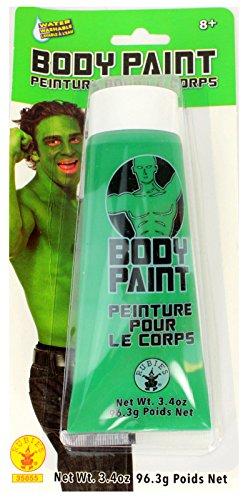 Green Cream Makeup Tube - Cream Costume Body Paint (Green)