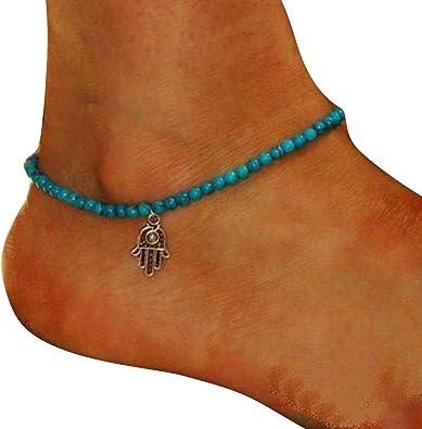 Liraly Women Bohemia Beach Barefoot Foot Jewelry Girls Anklet Chain Chain Jewelry