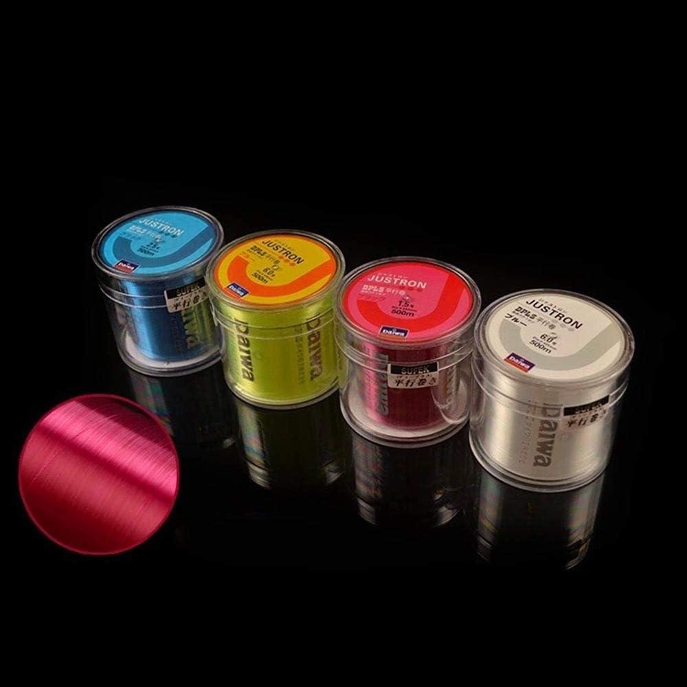 Sedal de pesca de la marca Daiwa Series s/úper fuerte Jap/ón monofilamento de nailon 500 m de diawa sin caja de pl/ástico CHENTAOCS Z60 color rosa paquete