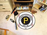 "Fan Mats Pittsburgh Pirates Baseball Rug, 29"" Dia."
