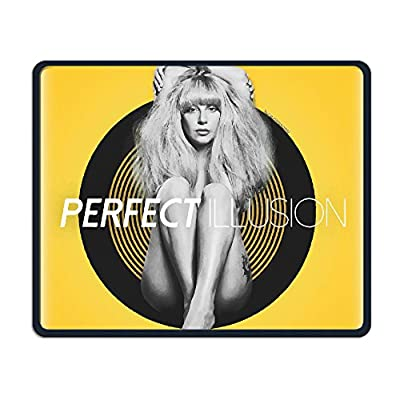 "9.8"" X 11.8"" X 0.12"" Lady Gaga Perfect Illusion Washable Gaming Awesome Gel Mouse Pad Mouse Mat"