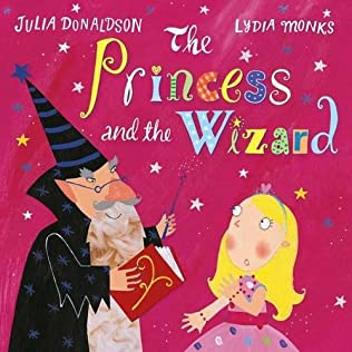 book cover of The Princess and the Wizard