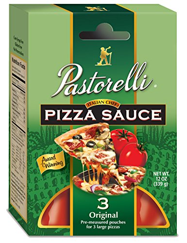 Pastorelli Italian Chef Pizza Sauce, 12 Ounce (Pack of 6)