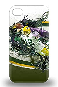 Snap On 3D PC Case Designed For Iphone 4/4s NFL Green Bay Packers Logo ( Custom Picture iPhone 6, iPhone 6 PLUS, iPhone 5, iPhone 5S, iPhone 5C, iPhone 4, iPhone 4S,Galaxy S6,Galaxy S5,Galaxy S4,Galaxy S3,Note 3,iPad Mini-Mini 2,iPad Air )