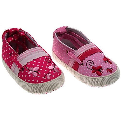 Soft Touch , Baby Mädchen Lauflernschuhe Pink