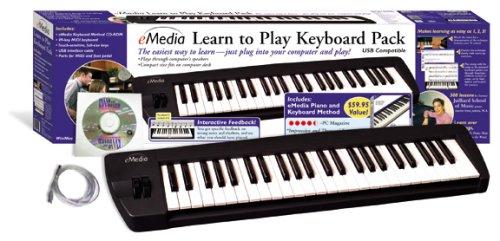 eMedia Learn to Play Keyboard Plug 'n Play Pack