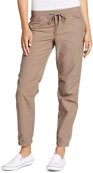 Eddie Bauer Legend Wash Pantalones para Mujer