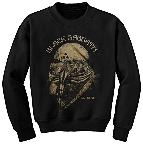 Crewneck Sweatshirt: Black Sabbath - US '78 Tour Size S (Band Crewneck Sweatshirt)
