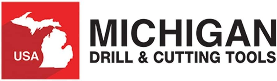 Michigan Drill Serie 509 3//4 Solid Pilot HSS 3 Flute Cap Screw Counterbores