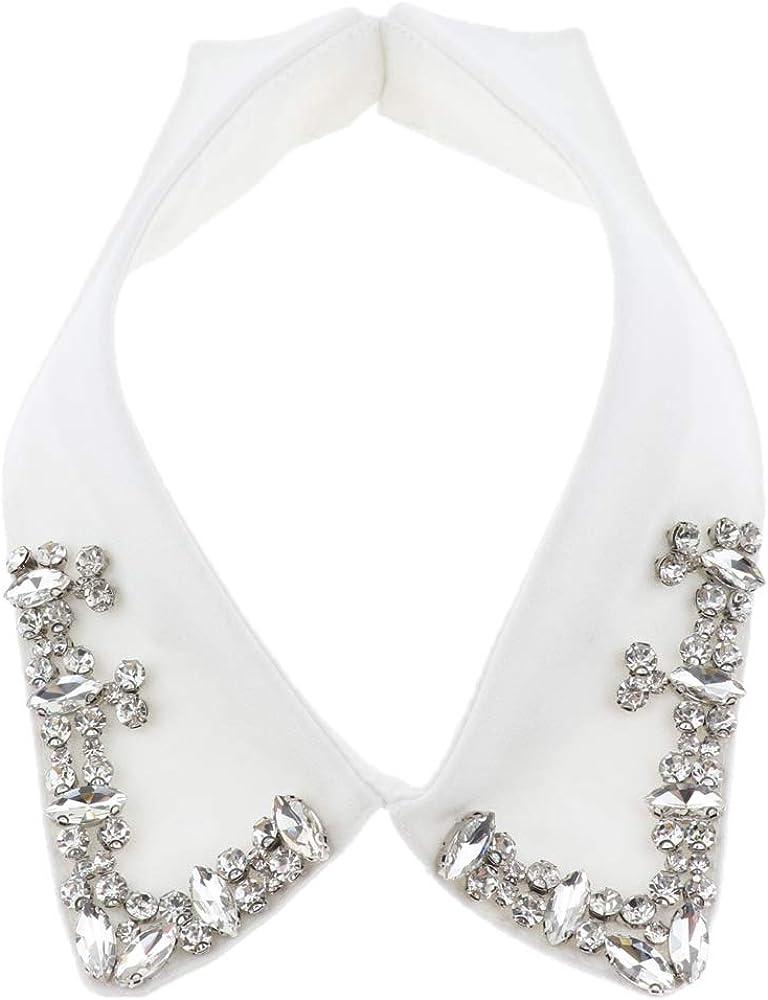 B Baosity Desmontable Cuello Falso Collar Docorativo Camisa Accesorio Ropa - Blanco, tal como se describe: Amazon.es: Ropa y accesorios