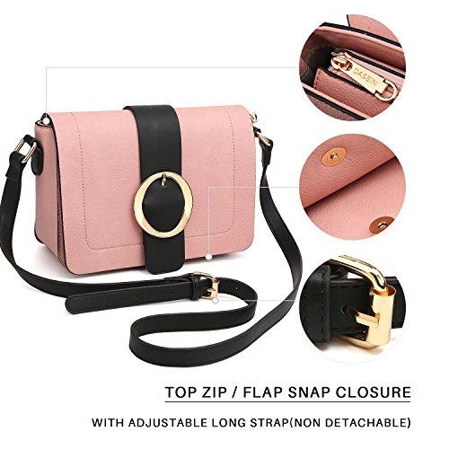 Grey Vegan Bags Women Structured Crossbody Purses Shoulder Leather Designer Bags Fashion Messenger Spp6v7P