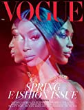 VOGUE UK MARCH 2019 featuring Naomi campbell- spring fashion issue - new copies exclusively from magazines and more
