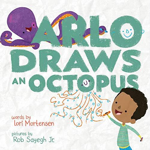 Book Cover: Arlo Draws an Octopus