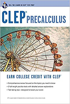 CLEP® Precalculus (CLEP Test Preparation)