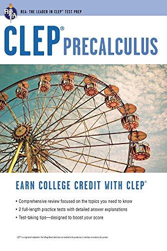 CLEP® Precalculus (CLEP Test Preparation)