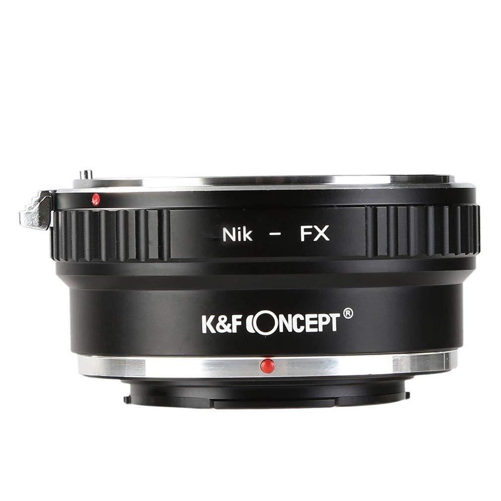 Nikon to Fuji X Lens Adapter, K&F Concept Lens Mount Adapter for Nikon AI/F Mount Lens to Fujifilm X Series Mirrorless FX Mount Camera Adapter for Fuji XT2 XT20 XE3 XT1 X-T2 etc