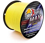 Maximum Performance Dog Fence Wire - 1000 Ft. 14 Gauge Wire with Ultra Thick 60 Mil Polyethylene Protective Jacket - Designed for Max Life Reliability and Low Signal Loss - Universal Compatible