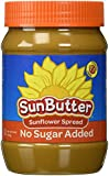 SunButter Sunflower Seed Spread - No Sugar Added - 16 oz