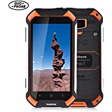 GUOPHONE V19 3G MTK6580 Quad Core 2GB RAM 16GB ROM 4.5 inch Android 5.1 IP68 waterproof dustproof and Smartphone shockproof