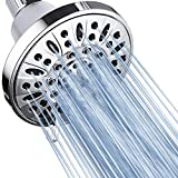 AquaDance Premium High Pressure 6-setting 4-Inch Shower Head for the Ultimate Shower Spa Experience! Officially Independently Tested to Meet Strict US Quality & Performance Standards!