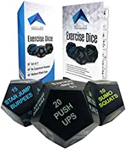 Azolize Exercise Dice for Workouts - Workout Dice for Exercise - Fitness Dice for Adults - WOD Dice - HIIT Dic