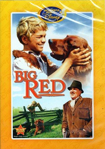 Big Red (Big Red Disney Dvd)