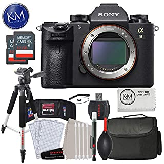 Sony a9 Full Frame Mirrorless Interchangeable-Lens Camera (Body Only) with Deluxe Striker Bundle