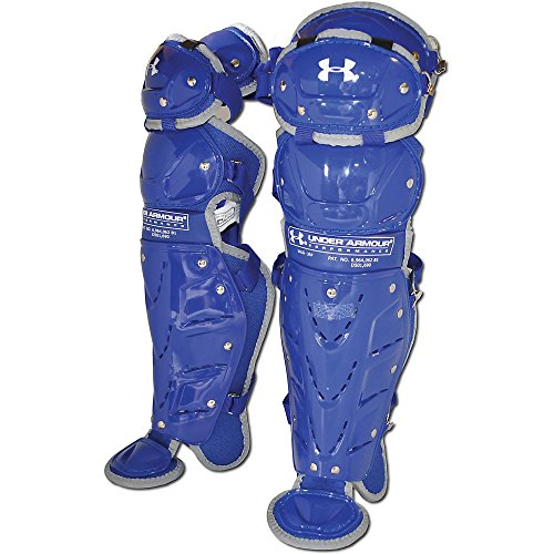 Under Armour Girls Junior Fastpitch Leg Guards, Royal