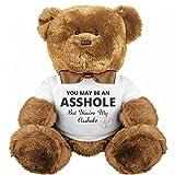 Funny Teddy Bear Couple Gift: Medium Plush Teddy Bear