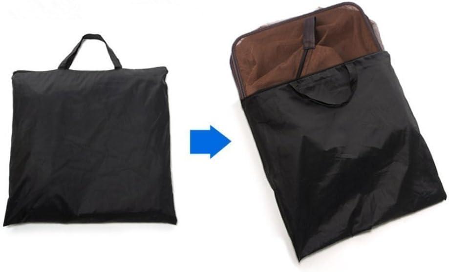 brown fonction de stockage de camping panier des couches qui 01 4 plats de poissons secs l/égumes maille filet multi