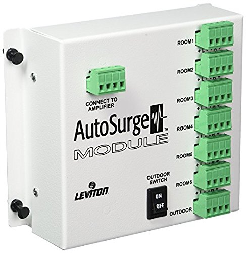 Leviton LBASP by Bose 7-Zone Speaker AutoSurge Audio Distribution Module (Leviton Decora Media System)