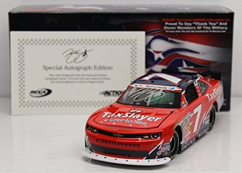Regan Smith 2013 American Salute 1:24 Auto'd Nascar Diecast (Regan Smith 1 24)