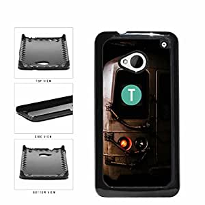 Personalized NYC Train Custom Letter T Plastic Phone Case Back Cover HTC One M7