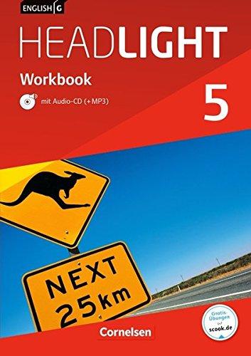 English G Headlight - Allgemeine Ausgabe / Band 5: 9. Schuljahr - Workbook mit Audio online
