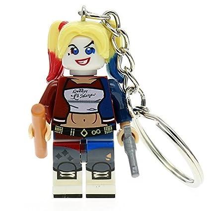 Suicide Squad Harley Quinn Minifigura Llavero: Amazon.es ...