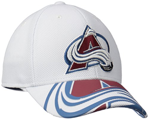 - NHL Colorado Avalanche Men's Draft Take Down Cap, Large/X-Large, White